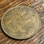 Medal struck by Nobel's Industries to commemorate the 1924 British Empire Exhibition.